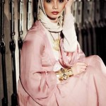 pink hijab style combine