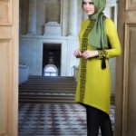 Dessen Tunique by Muslima Wear Lime Color Code 14083 New Collection 2014
