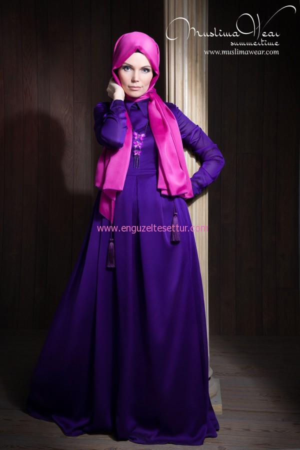 MUSLIMA WEAR SILK WAY elbise