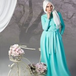MUSLIMA WEAR mint dress