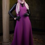 New Roseberry Dress by Muslima Wear Code 14013 Fall Winter 2013-14