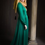 SUMMERTIME MUSLIMA WEAR SILK WAY green dress