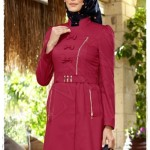 alvina 1220 inessa trench coat bordo