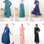 turkish hijab fashion styles abaya dresses scarf tunic models