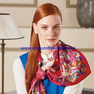 Cacharel 2016 Fall Winter Scarf Collection