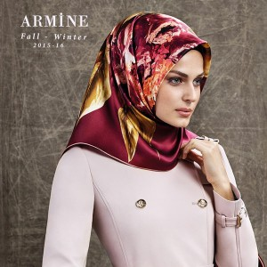 armine fall winter 2015 2016 silk scarf